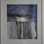 Drip-drop - Mixed media - 60cm x 62cm framed