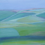 Coombe Martin, Devon - Oil on canvas - 30cm x 30 cm