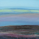 Above Coombe Martin, Devon - Oil on canvas - 25cm x 30cm
