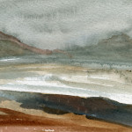 Lough Learne, Ireland - Watercolour - 12cm x 10cm