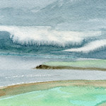Venty Cann, Tra Kerry, Ireland - Watercolour - 12cm x 10cm